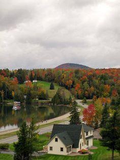 The Northeast Kingdom in Vermont.
