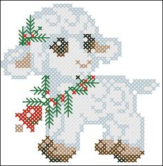 Instant Download Counted Cross Stitch PDF by LubaDaviesAtelier