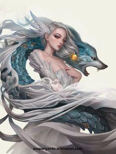 by ... by #Ase_Ariyanto #fantasy #fantasy #anime #art #skyrim #fallout