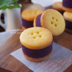「焼かないスイートポテト!紫芋のクッキーサンド」あゆ | お菓子・パンのレシピや作り方【cotta*コッタ】