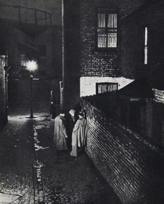 bill brandt. a night in london 1938