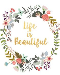 Word Art Life Is Beautiful Typography Quote Gallery Wall Print Home Decor Motivational Poster Wall Art Inspirational Posters, Motivational Posters, Quote Posters, Homestuck, Printable Art, Printables, Printable Quotes, Image Deco, Image Citation