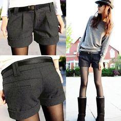 Damen-Hot-Pants-Sexy-Hueft-Hose-kurze-Shorts-Mini-Hosen-Pants-NEU-H59