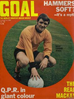Hugh Curran GOAL football magazine 08/08/1970