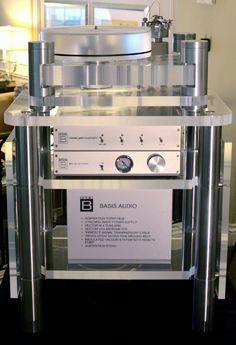Basis Audio Inspiration Turntable and Vector 4 Tonearm.
