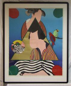 Tsuyoshi Yayanagi Go silkscreen print Edo Games 11:25 1979 original Kato frame listed Japanese artist by ElegantPossessions on Etsy