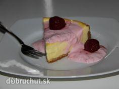 Fotorecept: Cheesecake s jahodovou prikrývkou
