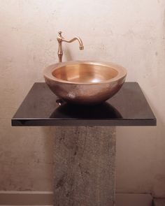 Copper Vessel by Stone Forest