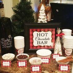 Crockpot Hot Chocolate, Best Hot Chocolate Recipes, Homemade Hot Chocolate, Hot Chocolate Bars, Chocolate Sprinkles, Cookie Exchange Packaging, Cookie Exchange Party, Christmas Hot Chocolate, Chocolate Babies