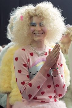 From Meadham Kirchoff's Spring/Summer 2012 show in London