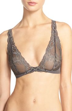 A romantic wear with anything lace bra.