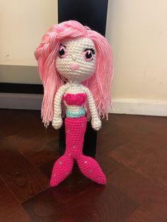 Sirena crochet Dinosaur Stuffed Animal, Toys, Animals, Templates, Mermaid, Plushies, Colors, Activity Toys, Animales