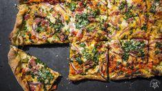Hapa-tite   Spinach PizzaDough   http://hapatite.com