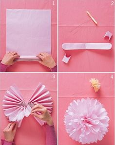 Paper Pom Pom