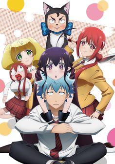 Nueva imagen promocional del Anime Renai Boukun.