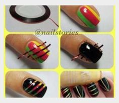 How to make design on your nails