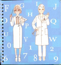 Oshare Note2 - Art by Naoki Watanabe - Mama Mia - Picasa Web Albums