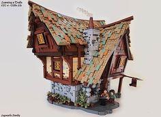 Wer hätte gedacht, dass man sowas aus Legosteinen bauen kann? Ich jedenfalls nicht, denn ich denke bei Lego erstmal an glatte geometrische Formen. Daniel Hensel, aka Legonardo Davidy, aus Wellington, baut diese unglaublichen mittelalterlich anmutenden Bauw