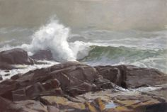 "Seascape Honorable Mention Rebecca Leer  ""Turbulence"" $4,000  20"" x 30"""