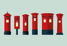 Postbox #flatdesign #flat #illustration
