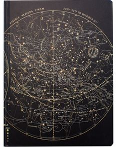 Astronomy Vintage Hardcover Large Sketchbook - Cognitive Surplus - 1