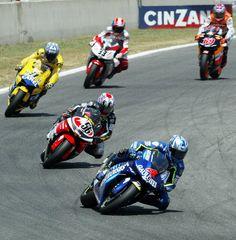 Barros leads Nakano, Ukawa, Melandri and Hayden at Catalunya.