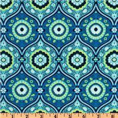 Amy Butler Lark Dreamer Treasure Box Ocean Blue  Item Number: EQ-279  Our Price: $8.98 per Yard  Compare At: $9.99 per Yard