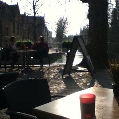 One of the many beautiful canals in my favourite place, Bruges