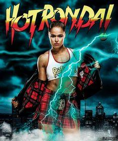 Raw is Rhonda Wrestling Stars, Wrestling Divas, Women's Wrestling, Ronda Rousey Wwe, Ronda Jean Rousey, Lucha Underground, Wwe Girls, Wwe Ladies, Martial
