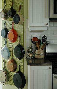Soluo criativa para a cozinha - COPY - Dicas de decoraao, artesanato, material reciclavel, casas e ideias