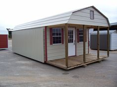 Metal Barns With Living Quarters General shelters :: buildings & more!