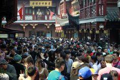 People visit the Yuyuan Garden in Shanghai