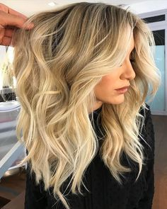 How to get voluminous curls, my hair has sooooo much natural volume already! I love my length and style now, I get so many compliments!