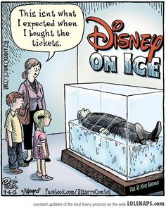 Disney On Ice  *snicker*