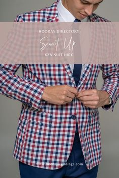 Suit Up suit hire offers high quality men's and boys' formal and fashion suits for all occasions, placing great importance on customer service and satisfaction. At Suit Up we are passionate about fashion and helping customers achieve their desired look. #hooraydirectory #weddings #southafricanweddings #southafricanbrides #planningmywedding #hoorayweddings