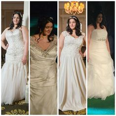 Plus size wedding gowns.  Plus size #weddingdresses for the curvy bride.  Find other #plussizeweddingdresses that can be customized for you at http://www.dariuscordell.com/featured_item/plus-size-wedding-dresses-bridal-gowns/