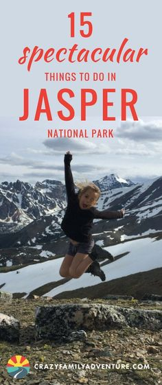 15 Spectacular Things to do in Jasper National Park- is home to one of the most sensational on the National Park boasts a variety of spectacular for all levels, rafting, exploring glaciers and so Canada National Parks, Jasper National Park, Canada Travel, Travel Usa, Canada Trip, Canada Eh, Ottawa, Family Adventure, Adventure Travel