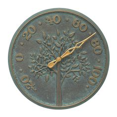Found it at Joss & Main - Tree of Life Indoor/Outdoor Wall Thermometer