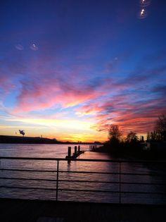 Sunset, Vlaardingen - Holland Deltahotel