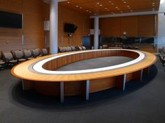 World Bank Executive Conference Room Paul Downs Cabinetmakers Table Design