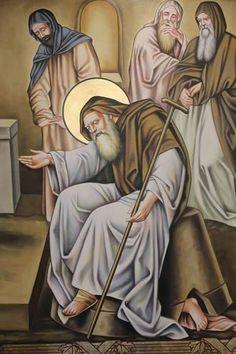 Saint Antony, Orthodox Icons, Bible Art, Christian Art, God Is Good, Christianity, Egypt, Art Drawings, Saints