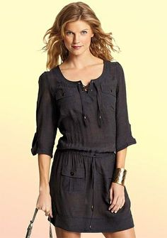 Darby Shirt Dress $40 by Angela