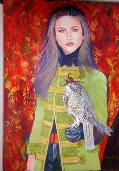 Grace acrylic on canvas 100x080