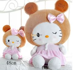 89.10$  Watch here - http://ali0sh.worldwells.pw/go.php?t=32284338696 - Fancytrader 2015 New 39'' / 100cm Big Stuffed Soft Plush Biscuit Hello Kitty Toy, Nice Gift For Kids, Free Shipping FT50503 89.10$