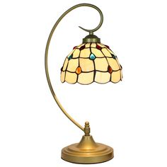 9,500税込。ステンドグラス製テーブルランプを豊富に通販致します。市場に芸術的なティファニーライトの低価格を実現! Tiffany Table Lamps, Metal Bending, Dining Room Lighting, Lamp Light, Stained Glass, Gems, Rustic, Living Room, Pattern