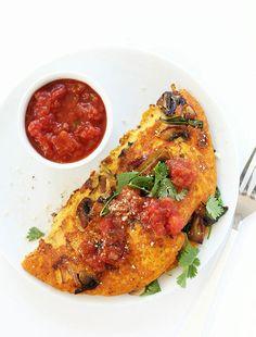 Simple Vegan Omelet