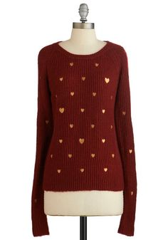 Ticker Talk Sweater | Mod Retro Vintage Sweaters | ModCloth.com