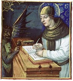 Medieval Scribe and