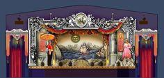 Pirates of Penzance set design