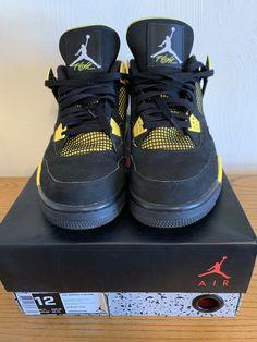 9f604366a41753 Nike Air Jordan Retro 4 Thunder 2012 Size 12  fashion  clothing  shoes   accessories  mensshoes  athleticshoes (ebay link)